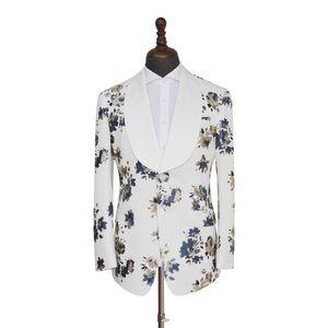 Men's Floral 2 Piece Suit
